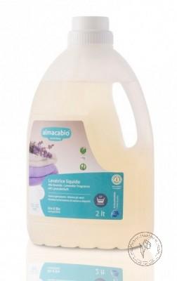Almacabio Жидкое мыло для ручной и машинной стирки *Лаванда*, 2 л.