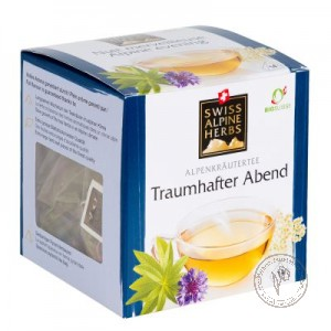 Swiss Alpine Herbs Чай травяной *Для сладких снов*, 14 гр.