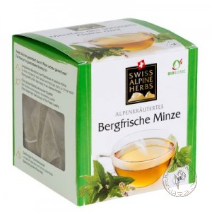 Swiss Alpine Herbs Чай травяной *Горная свежесть мяты*, 14 гр.