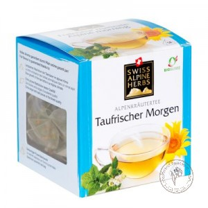 Swiss Alpine Herbs Чай травяной *Свежесть альпийского утра*, 14 гр.