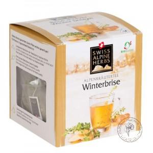 Swiss Alpine Herbs Чай травяной *Зимний с имбирем*, 14 гр.