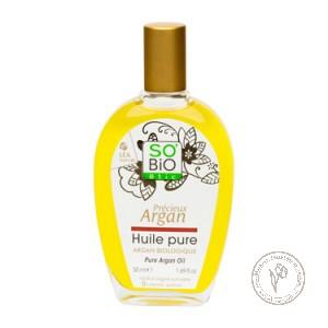 SO'BiO etic Масло аргановое чистое органическое, 50 мл.