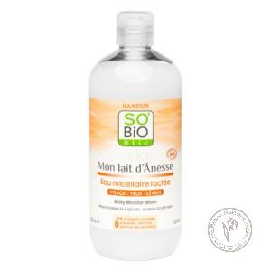 SO'BiO etic Мицеллярная вода «Молочная», 500 мл.