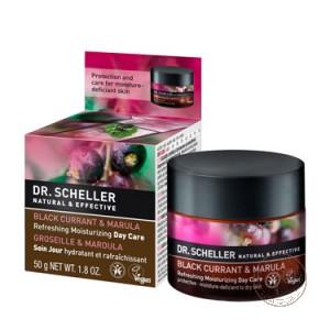 Dr.Scheller Освежающий дневной крем «Черная смородина и марула», 50 мл.