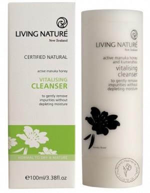 Living Nature Очищающий крем, 100 мл.