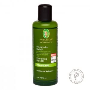 Primavera Тонизирующее масло для ванны «Имбирь Лайм», 100 мл.