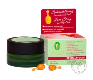 Primavera Интенсивное масло для лица в капсулах *Роза и Гранат*, 30 капсул.