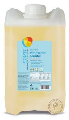 Sonett Жидкое средство для стирки Sensitive для чувствительной кожи, 10 л.