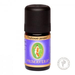 Primavera Ароматизатор воздуха – смесь эфирных масел «Глубокий релакс», 5 мл.
