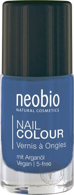 Neobio Лак для ногтей №08 *Сияющий синий*, 8 мл.