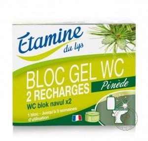 Etamine Du Lys Компактный блок-гель для обработки туалетов (сменный блок), 2х50 мл.