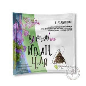Капорский Иван-чай С чабрецом (пирамидка в саше), 2 гр.