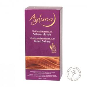 Ayluna Краска для волос растительная №25 «Песочный блондин», 100 гр.