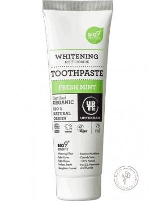 Urtekram Зубная паста отбеливающая *Освежающая мята*, 75 мл.