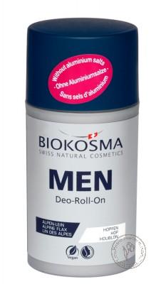 Biokosma Шариковый дезодорант мужской, 60 мл.