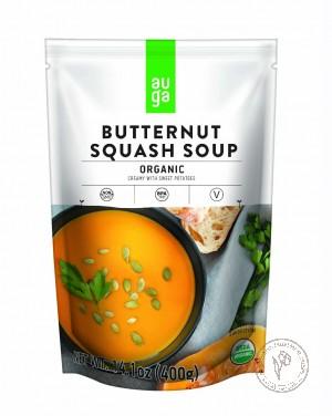Auga Органический тыквенный суп-пюре co сладким картофелем, 400 гр.