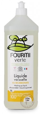 Fourmi Verte Средство для мытья посуды, 1 л.
