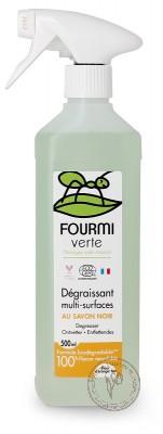 Fourmi Verte Универсальное чистящее средство-спрей для всех типов поверхностей, 500 мл.
