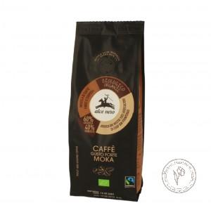 Alce Nero Кофе натуральный жареный молотый МОКА (смесь 60% Арабика и 40% Робуста), 250 гр.