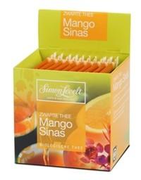 Simon Levelt Чай черный байховый ароматизированный *Манго и апельсин*, 17,5 гр.