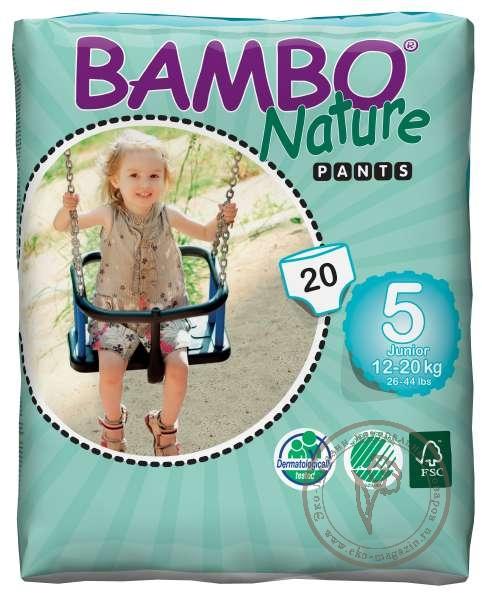 c94626f937ea Bambo (Бамбо) Детские Эко-подгузники-трусики Junior (12-20 кг.), 20 ...