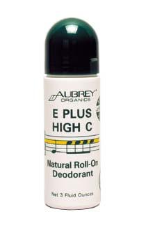 Aubrey Organics Роликовый дезодорант с витамином Е, 90мл.
