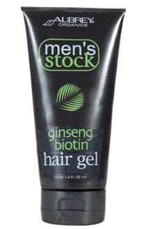Aubrey Organics Гель для укладки волос *Женьшень и биотин*, 177 мл.