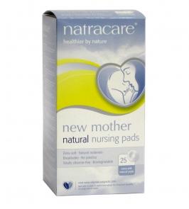 Natracare Прокладки (вкладыши впитывающие) для груди для кормящих матерей, 26 шт.
