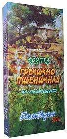 Беловодье Крупка *Гречично-пшеничная по-старорусски с отрубями и ростками*, 500 гр.