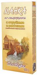 Беловодье Крупка *Манка по-старорусски с отрубями и ростками*, 500 гр.